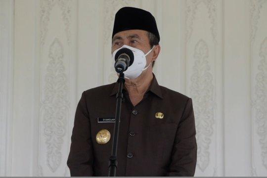 Gubernur Riau Syamsuar positif COVID-19