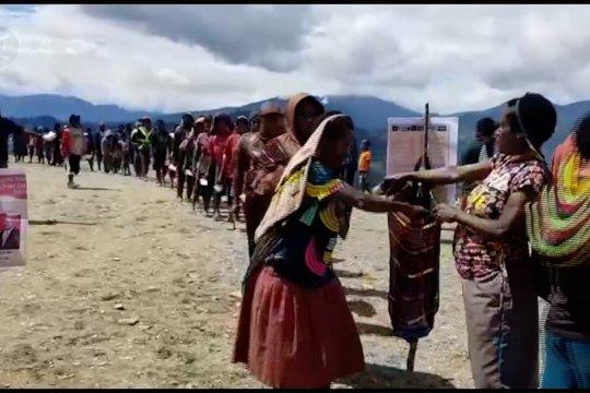 KPU Papua petakan hanya Kabupaten Yahukimo yang menggunakan sistem noken