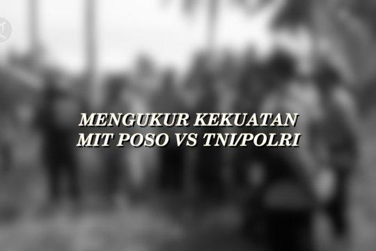 Mengukur kekuatan MIT Poso Vs TNI/Polri