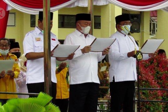 Paslon Kepala Daerah deklarasikan Pilkada damai