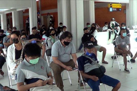 Pemberlakuan SE Gubernur, Bandara Ngurah Rai perketat prokes pada penumpang