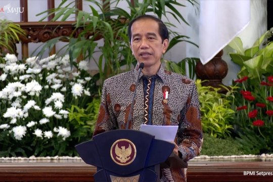 Presiden minta kementerian dan lembaga segera belanjakan anggaran 2021