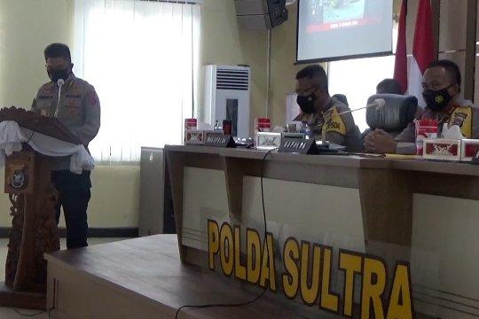 Kejahatan konvensional mendominasi Sultra selama 2020