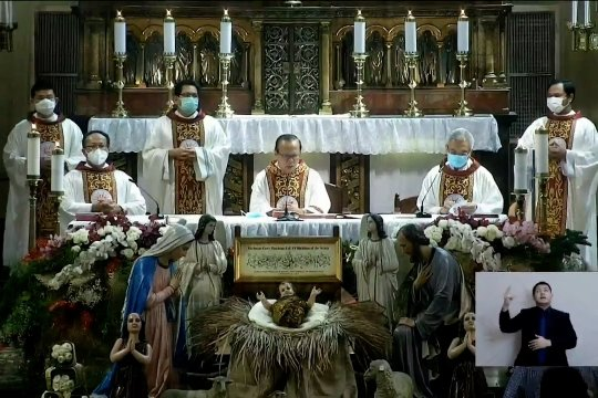 Terapkan prokes, jemaat Misa Natal di Katedral Jakarta dibatasi 309 orang