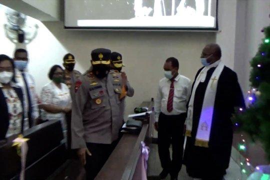Wakapolda Papua cek pengamanan ibadah Natal di Jayapura