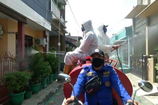Kasus meningkat, BPBD Kota Tangerang gencarkan penyemprotan disinfektan