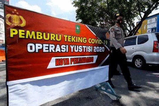 Pemprov Riau aktifkan posko COVID-19 di perbatasan jelang Nataru