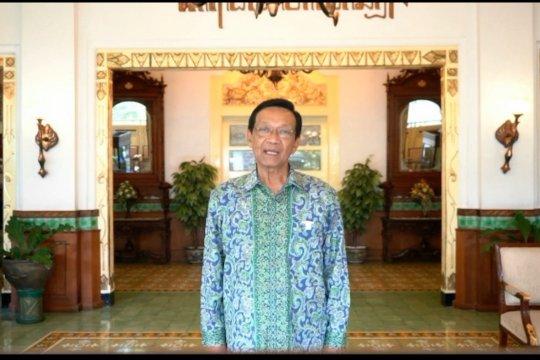 Tahun Baru, Sultan HB X ajak warga refleksi diri di rumah
