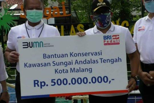 BRI serahkan CSR konservasi Sungai Andalas senilai Rp500 juta
