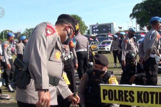 Polda Kalteng lepas pasukan OMP Pilkada 2020