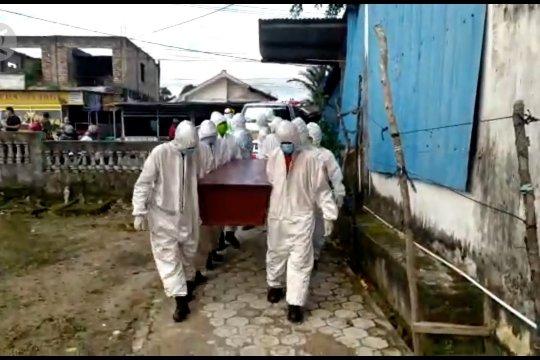 Tiga pasien COVID-19 Babel meninggal, pasien positif bertambah 79 orang