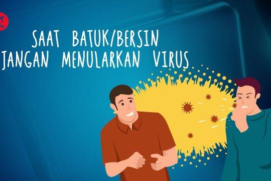 Ingat etika batuk dan bersin di tempat umum