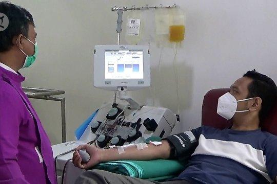 PMI Tangerang fasilitasi donor plasma konvalesen dari penyintas COVID-19