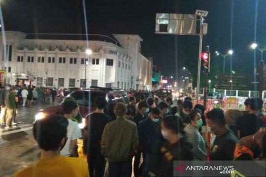 Tutup tahun di Nol Kilometer Yogyakarta tanpa pesta kembang api