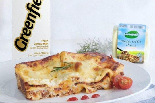 Kawinkan citarasa Padang-Italia dalam resep Lasagna Rendang