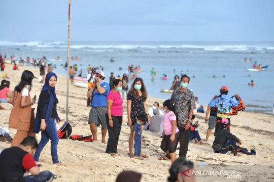 Liburan tahun baru di Pantai Pandawa Bali