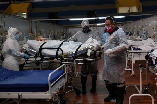 Brazil catat penambahan1.283 kematian COVID-19
