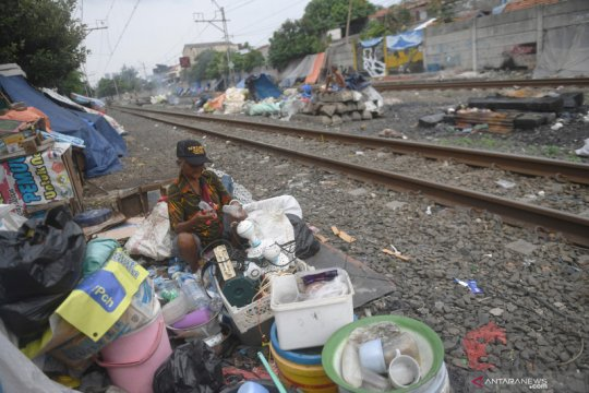 BPS: Penduduk miskin di Jakarta bertambah akibat adanya pandemi