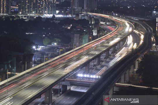 Arus balik liburan Natal dan Tahun Baru di Tol Jakarta-Cikampek