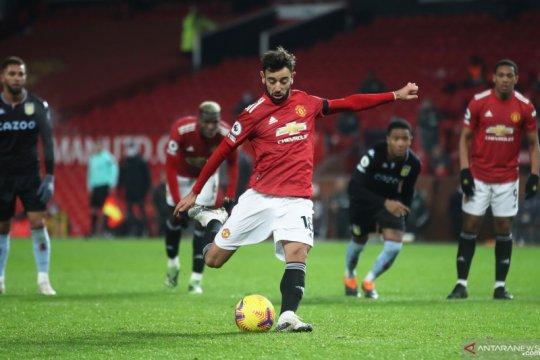 Bruno Fernandes ingin United bermain lebih kejam di depan gawang lawan