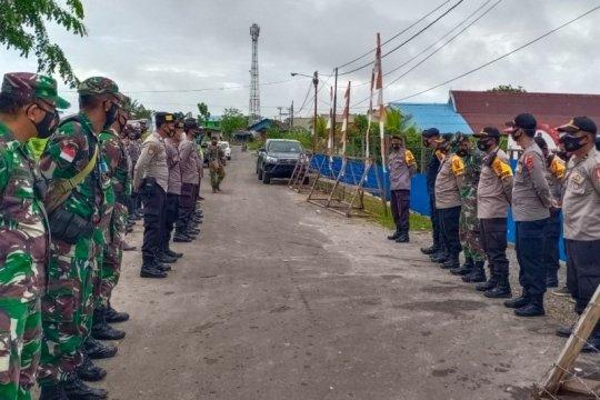 Personel TNI-Polri amankan pleno Pilkada KPU Boven Digoel