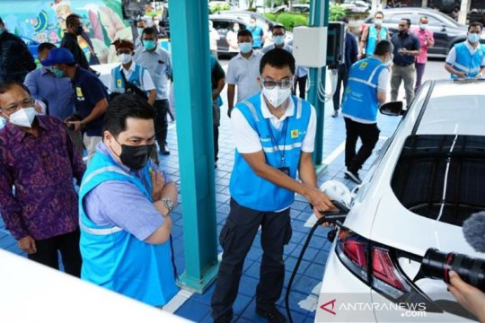 "Kunjungi Tiongkok, Erick bahas kemitraan pembangunan ""EV Battery"""