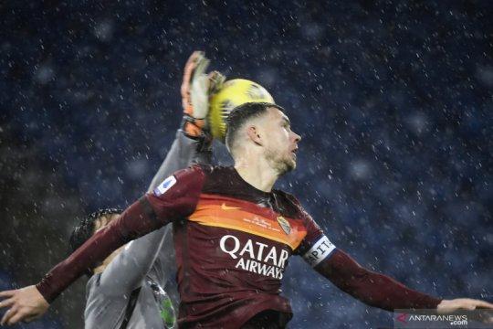 Roma menang tipis atas Sampdoria untuk pertahankan posisi tiga