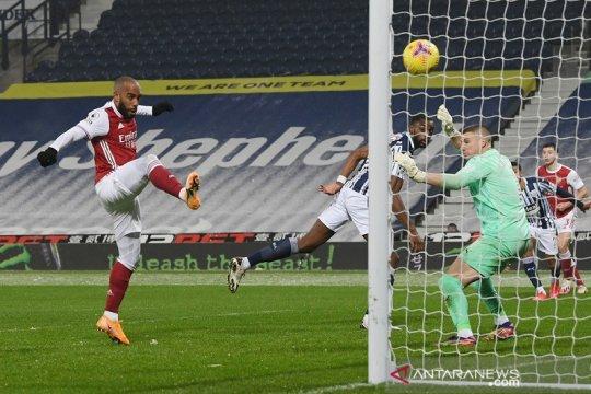 Arsenal lanjutkan tren positif ketika cukur habis West Brom 4-0
