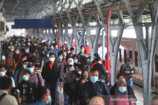 KAI: Hari ini puncak arus balik Daop 1 Jakarta