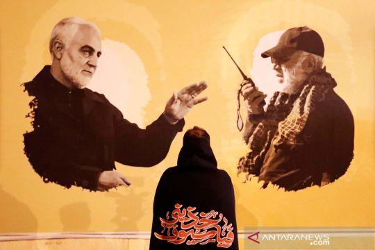 Peringatan pembunuhan komandan militer senior Iran Jenderal Qassem Soleimani