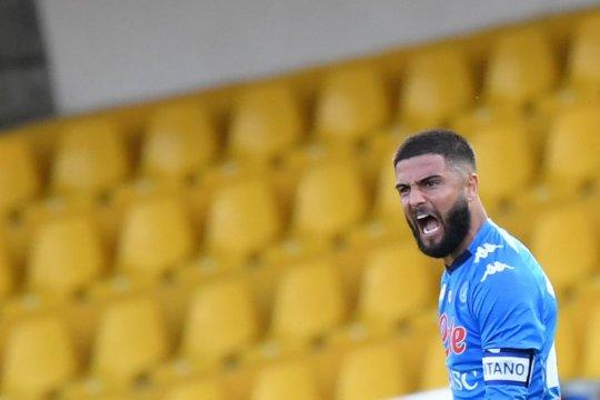 Insigne minta Napoli tidak jemawa meski memimpin di Liga Italia