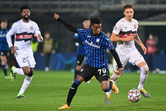 Manchester United rampungkan transfer Amad Diallo dari Atalanta