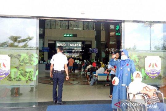 113 orang di RSUD Tarakan positif COVID-19, rawat jalan ditutup