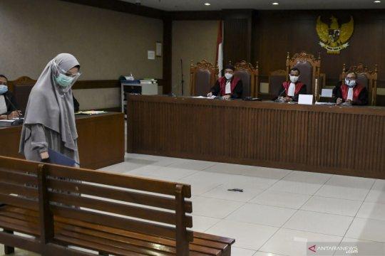 Jaksa Pinangki akui sengaja tak lengkapi LHKPN