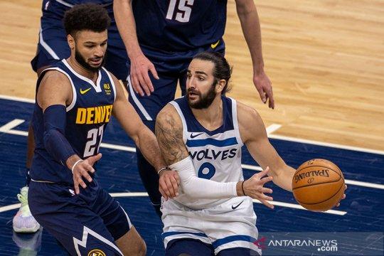 Jokic-Murray boyong Nuggets atasi Timberwolves 124-109