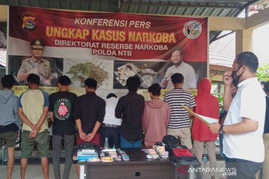 Polda NTB tangkap 20 penyalahguna narkotika di Abian Tubuh