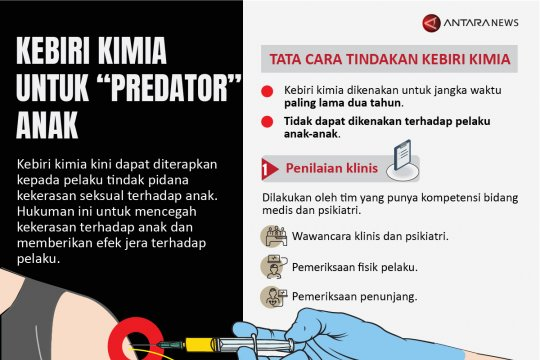 Kebiri kimia untuk 'predator' anak