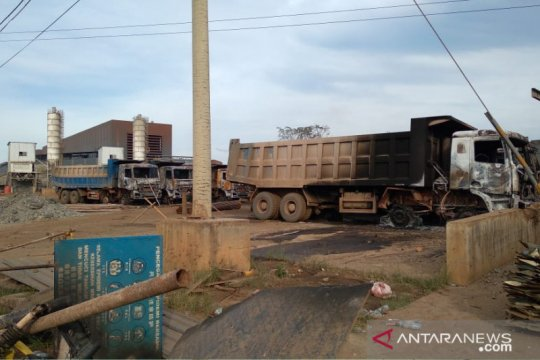 Polisi rampungkan penyidikan pembakaran smelter nikel di Konawe