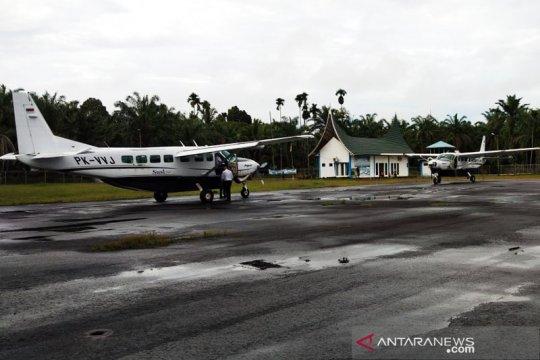 Bandara Pusako Anak Nagari Pasaman Barat kembali beraktivitas