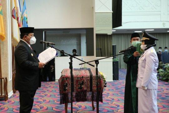 Gubernur Lampung lantik Haryati Candralela jadi Wakil Bupati Mesuji