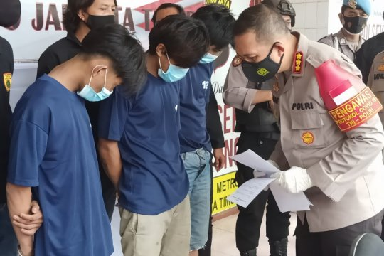 Polisi tangkap pencuri alat ukur volume gas PGN senilai Rp40 juta