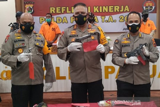 Kapolda Papua ungkap peran ASN penyelundup senpi di Nabire