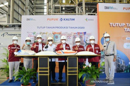 Pupuk Kaltim catat realisasi produksi 2020 di atas RKAP