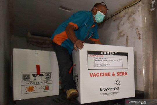 Kalimantan Barat terima 18.360 vial vaksin COVID-19