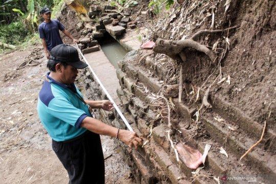 Penemuan struktur bata kuno di Pasuruan