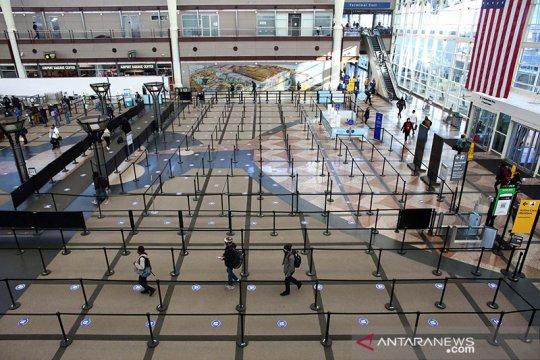 Penumpang di bandara AS berkurang 500 juta pada 2020
