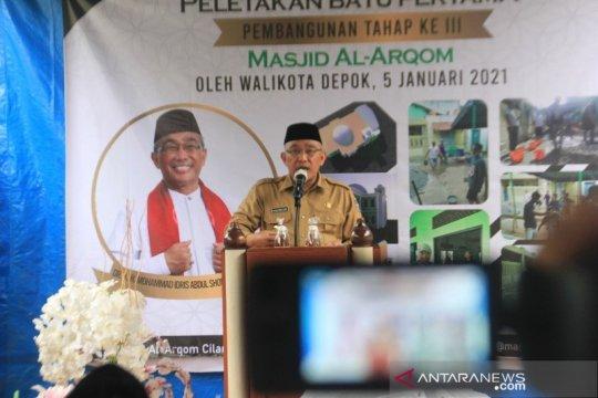 Wali Kota Depok dukung perluasan Masjid Al Arqom Depok