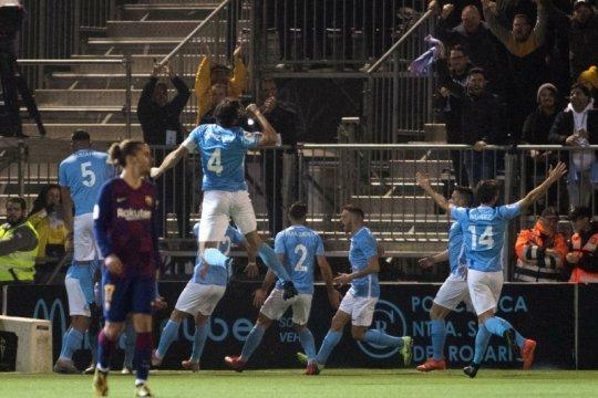 Klub divisi tiga UD Ibiza bantai Celta Vigo 5-2