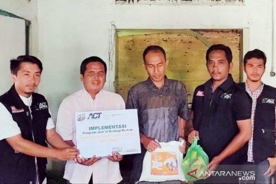 ACT-MRI salurkan bantuan bagi penyandang tuna netra di Sumut