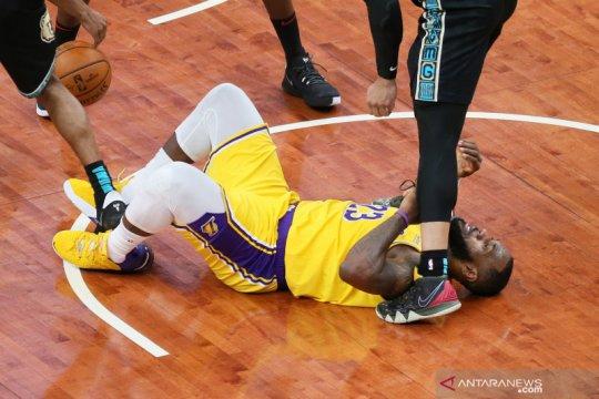 Lakers kalahkan Grizzlies untuk catat empat kemenangan beruntun